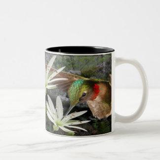 Beautiful Ruby Throated Hummingbirds Coffee Mugs