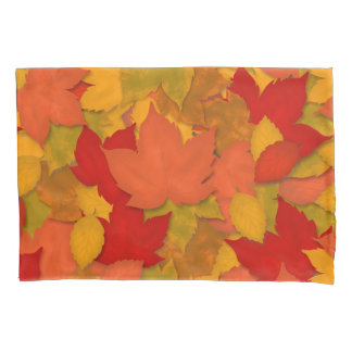Beautiful Rustic Fall or Autumn Leaves Pillowcase
