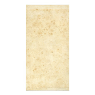 Beautiful Rustic Stained Antique Blank Old Paper Photo Greeting Card