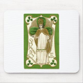 Beautiful saint patrick old poster mouse pad