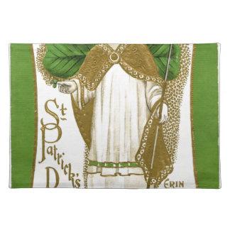 Beautiful saint patrick old poster placemat
