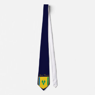 Beautiful Saint Vincent  and the Grenadines Flag Tie