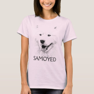 Beautiful Samoyed dog art T-Shirt
