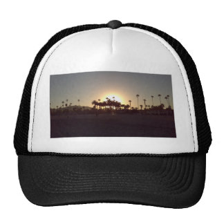 Beautiful Santa Barbara beach sunset Trucker Hat