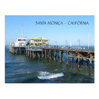 Beautiful Santa Monica Pier Postcard! Postcard