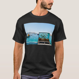 Beautiful Santorini sea view T-Shirt