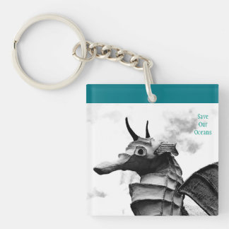 Beautiful Save Our Oceans Key Chain
