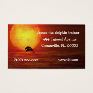 Beautiful scene Business Card