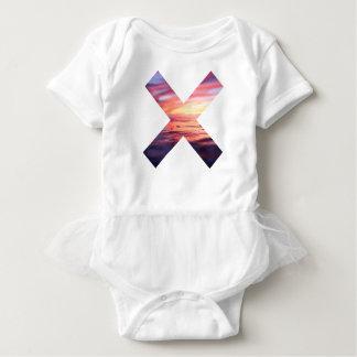 Beautiful Scenery X sign Baby Bodysuit