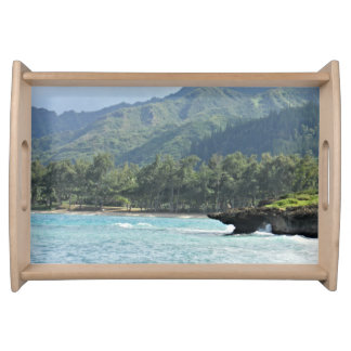 Beautiful Scenic Vacation Getaway Serving Tray