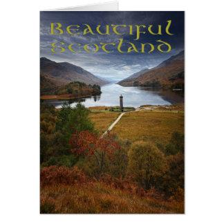 Beautiful Scotland Card