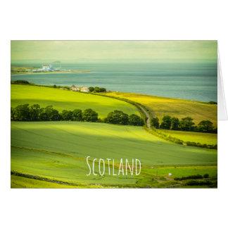Beautiful Scotland, greeting card