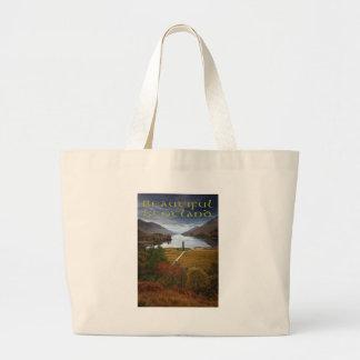 Beautiful Scotland Large Tote Bag