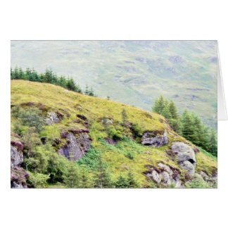 Beautiful Scottish Countryside Card