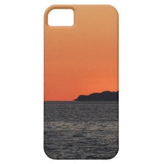 Beautiful sea sunset with island silhouette iPhone 5 case