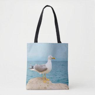 Beautiful Seagull at the Sea Tote Bag