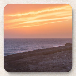 Beautiful Seascape Sunset - Guinho, Portugal Coaster
