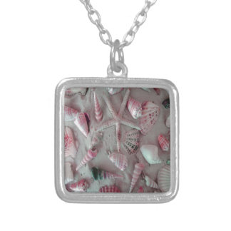 Beautiful Seashells Silver Plated Necklace