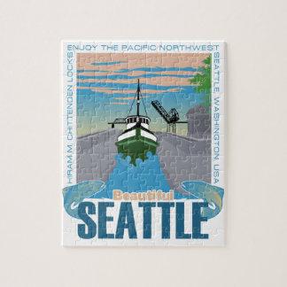 Beautiful Seattle Jigsaw Puzzle
