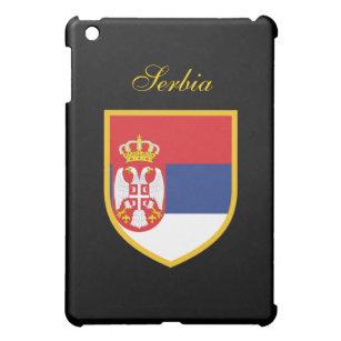 Beautiful Serbia Flag Cover For The iPad Mini