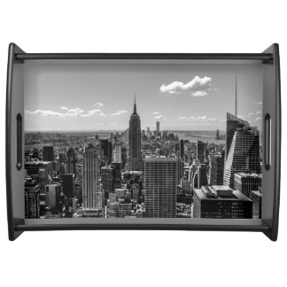 Beautiful Serving Tray, New York City Skyline Serving Tray