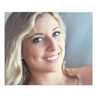 """Beautiful sexy smiling girl 24"""" x 20"""", Kodak Pro Art Photo"""