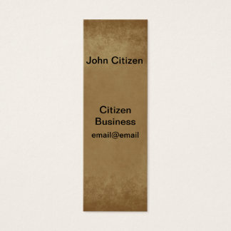 Beautiful shades of brown textured business card