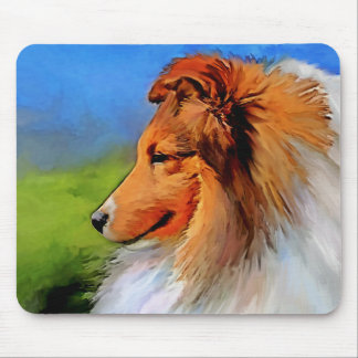 Beautiful Sheltie Art Mousepad