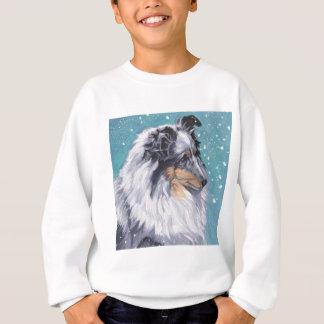 Beautiful Sheltie Shetland Sheepdog Fine Art Sweatshirt