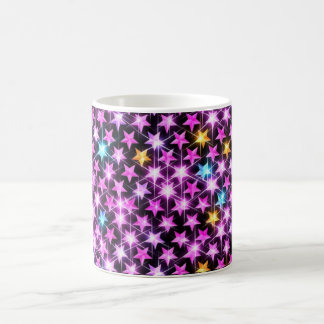 Beautiful shiny stars coffee mug