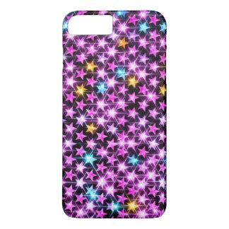 beautiful shiny stars iPhone 7 plus case