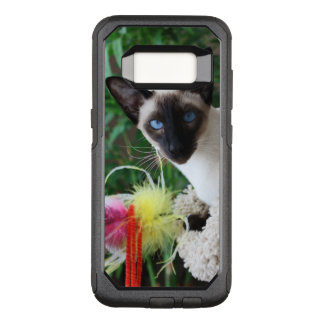 Beautiful Siamese Cat Playing With Toy OtterBox Commuter Samsung Galaxy S8 Case