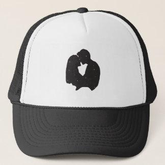 Beautiful silhouette trucker hat