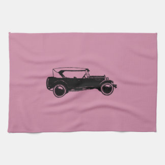 Beautiful & Simple Vintage Car Hand Towel