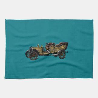 Beautiful & Simple Vintage Car Towels