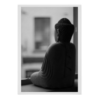 Beautiful Sitting Buddha Poster