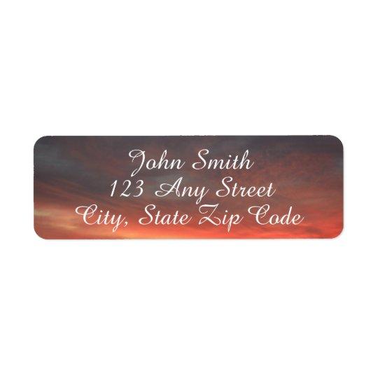 Beautiful Sky Address Labels