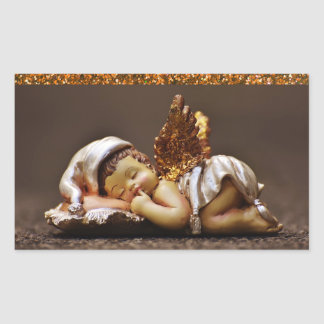 Beautiful Sleeping Angel Sticker
