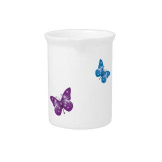 Beautiful Small Butterflies Design Pitchers