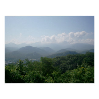 Beautiful Smokey Mountains Poster