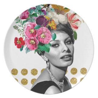 Beautiful Sophia Plate