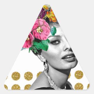 Beautiful Sophia Triangle Sticker