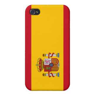 Beautiful Spain Flag iPhone 4 Covers