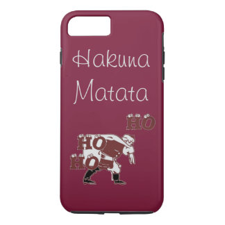 Beautiful Special Santa Hohoho Hakuna Matata iPhone 8 Plus/7 Plus Case