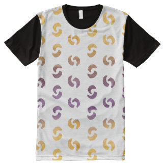 Beautiful Spring Abstract Watercolors All-Over Print T-Shirt