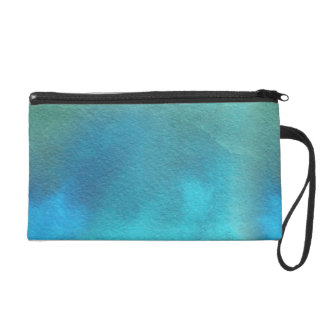 Beautiful Spring Abstract Watercolors Wristlet