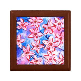 Beautiful Spring Blossom Watercolour Gift Box