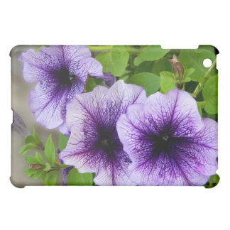 Beautiful spring flowers purple iPad mini cover