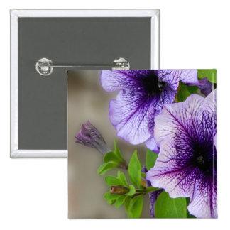 Beautiful spring flowers purple pin
