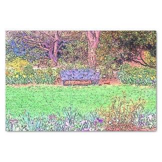 Beautiful Spring Garden Tissue Paper